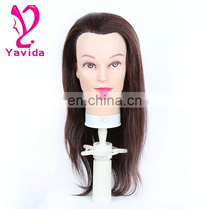 male human hair salon training head