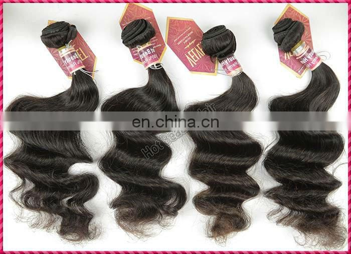 Hot Beauty Hair Virgin Peruvian Hair 27 piece Hair Weave