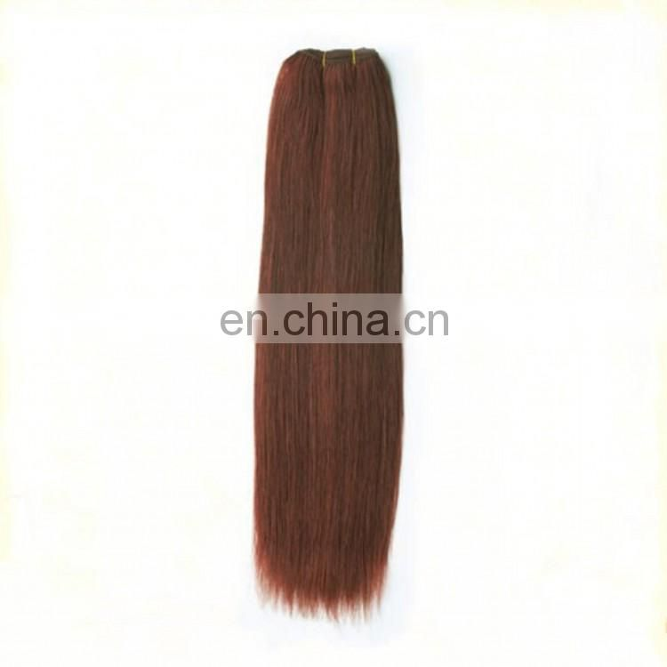 Factory Cheap Wholesale Human Hair Weave Top Quality Hair Extension 6A Grade Straight Indian Remy Hair Extension