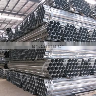 round shape structural tube pre galvanized steel pipe