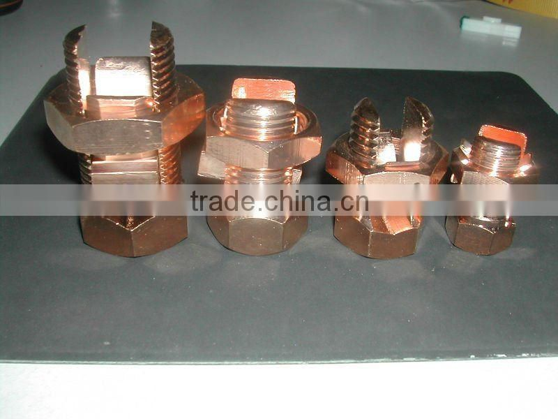 T/J Copper Bolt Connector(split bolt connector)