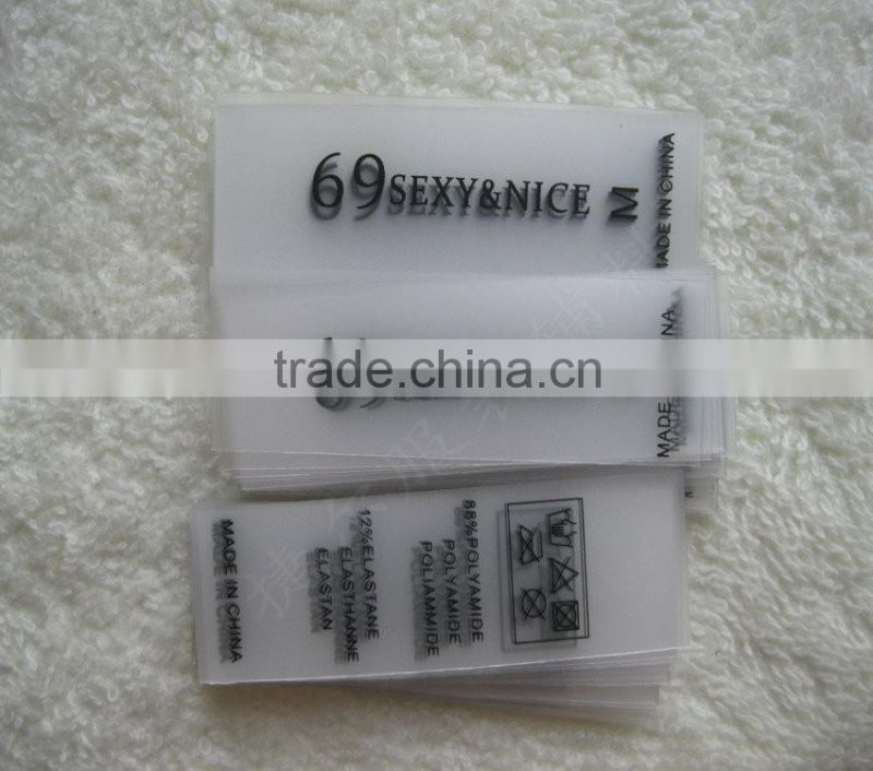 Customized TPU printing label