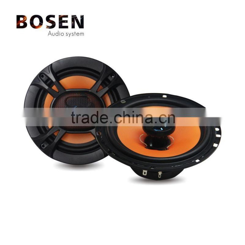 6.5 inch Max.power 120W Orange coaxial car speakers