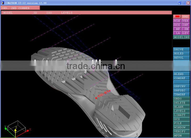 tpr/tpu/rubber steel outsole mould made in china shoe sole