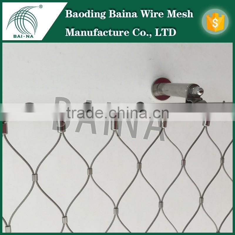 New Premium Stainless Steel Wire Rope Fence Mesh,Stainless Steel ...