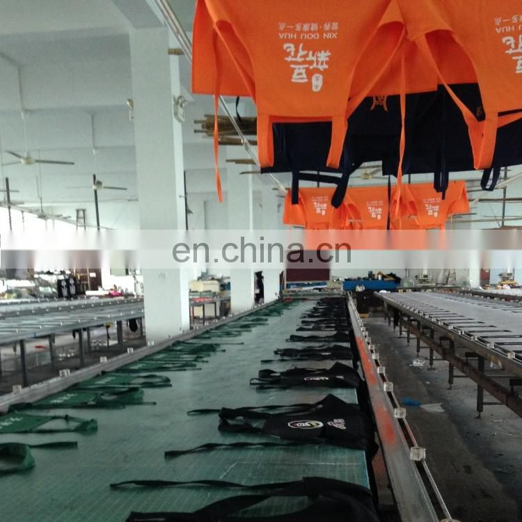 Wholesale promotional Apron polyester material can add custom logo for advertising