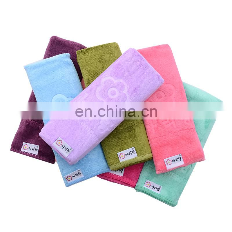 Chinese factory 100 % polyester microfiberChinese factory cleaning towel