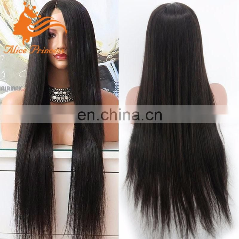 brazilian hair straight full lace human hair wig remy hair wigs for black women