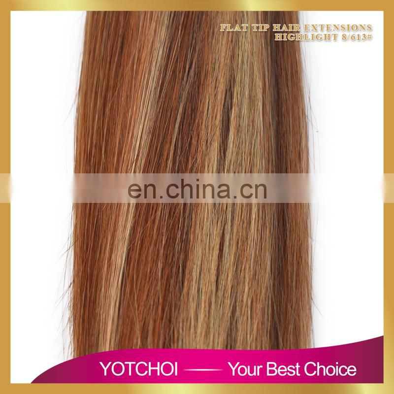 For Braiding 24 Inch Long straight Style #613 Russian tape hair extensions