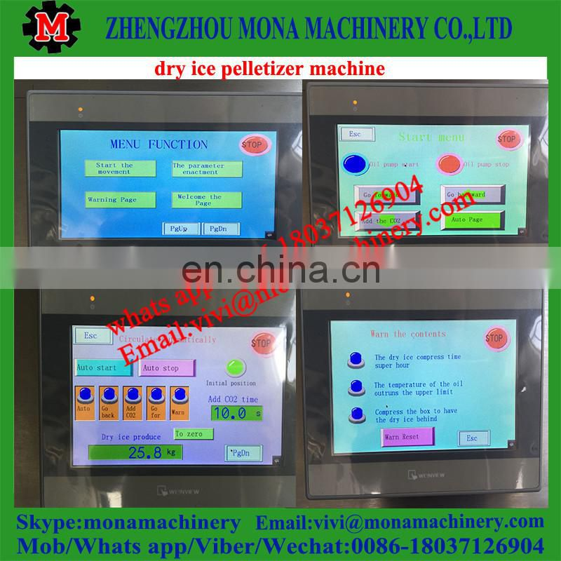 dry ice machine/dry ice pelleting machine/solid Co2 making machine Image