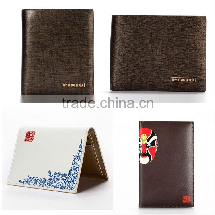 Office Popular Desk Set Customizable Leather Memo Pad Holder