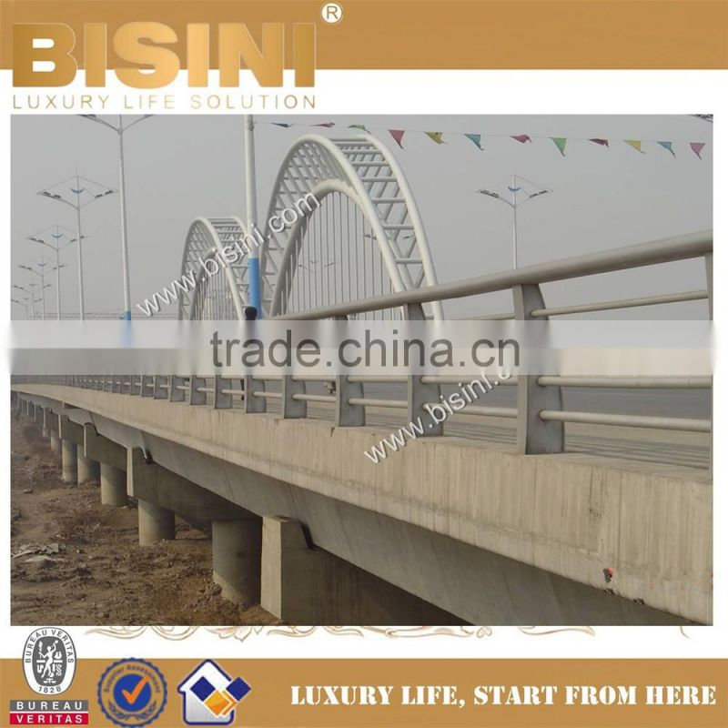 Shanxi Pingyang Steel Structure Car Bridge, Steel Concrete
