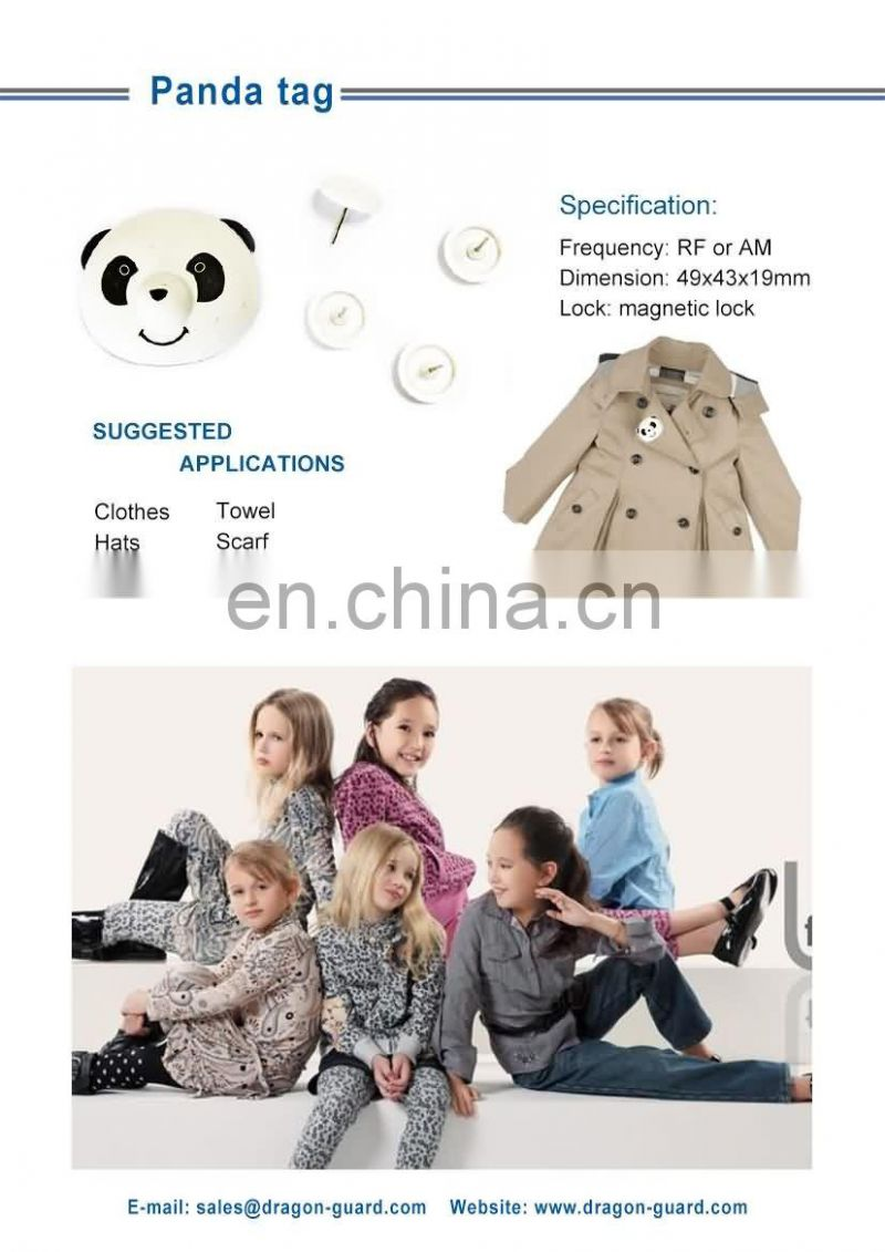New Cute shop loss prevention children clothing hard tag, store tag, garment tag (CE/ISO)