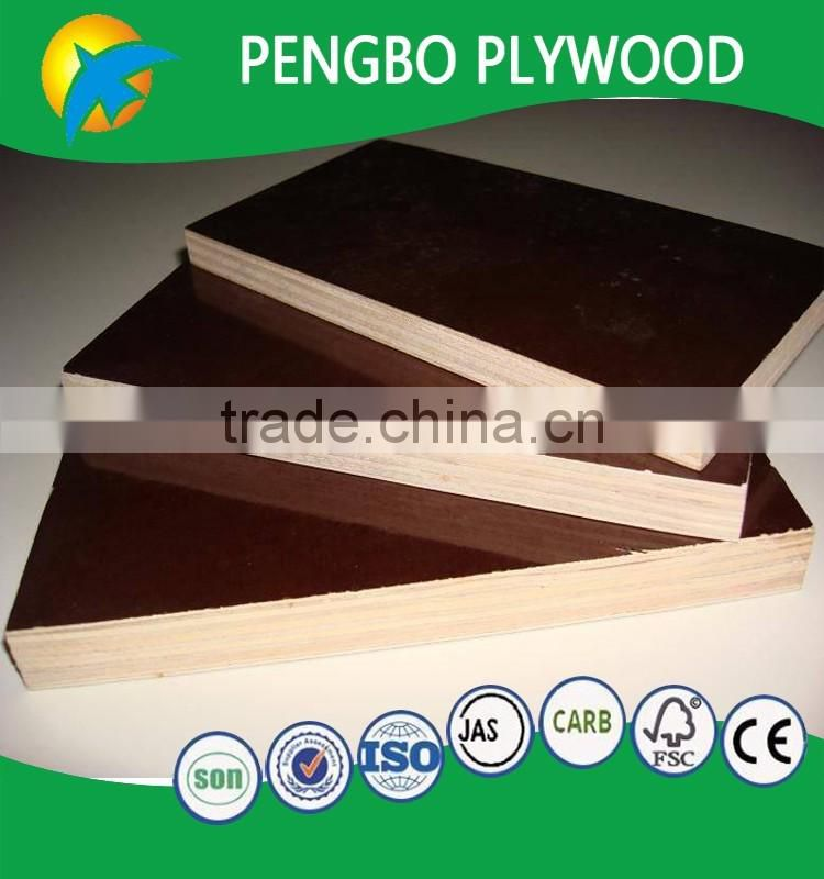 Cheap Brown Shuttering Plywood Plate Images Film Faced
