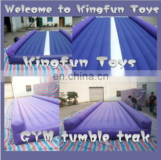 Dance inflatable tumble track for sale
