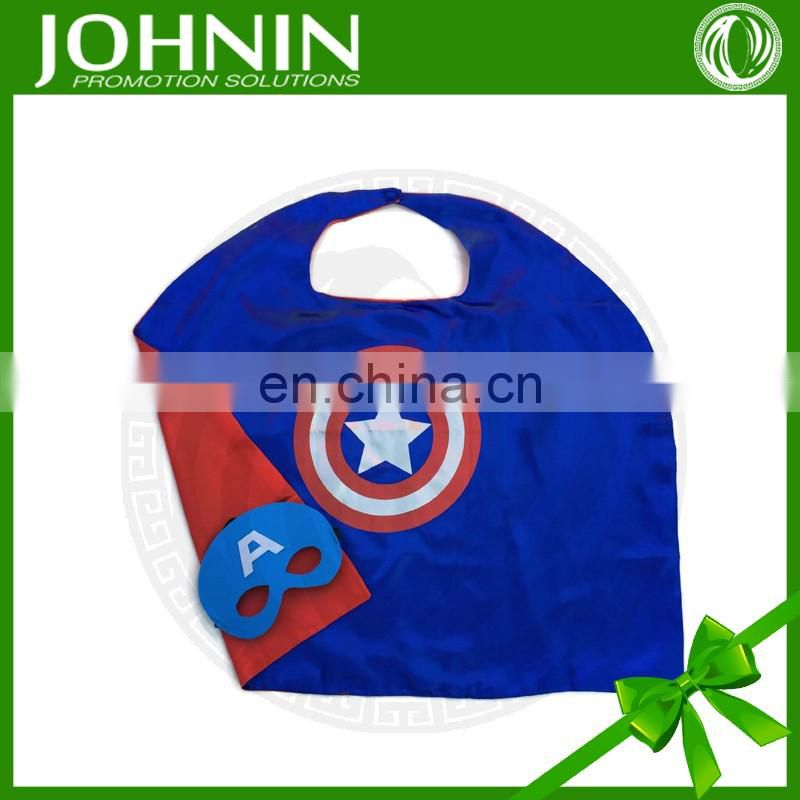 OEM service satin promotional adult superehero cape