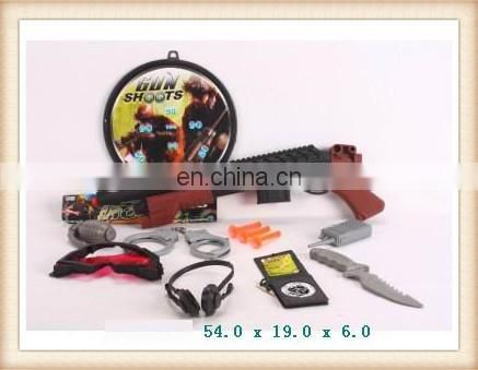 hot sale toy police equipment,toy police gun set