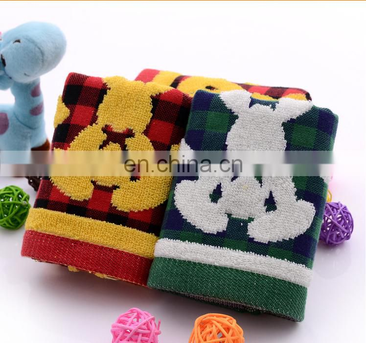 gaoyang towels double-player 100% cotton face towels soft children towels 25*50 50g
