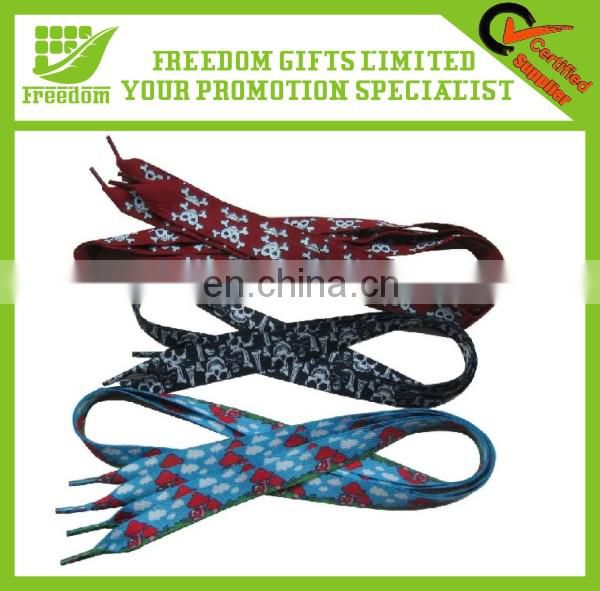 Fashionable Promotion Custom Logo Elastic Shoelace