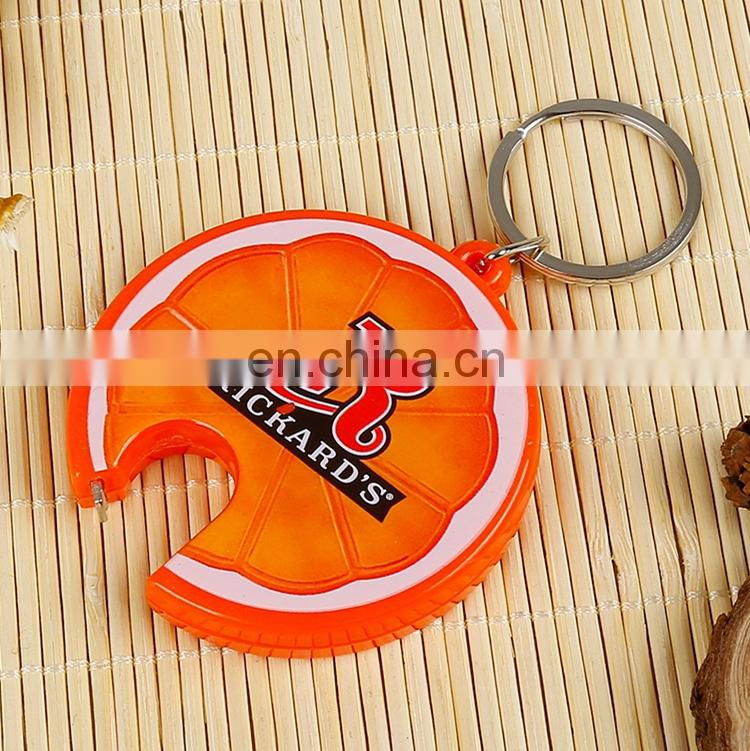 Hot Sale Acrylic bottle opener keychain holder