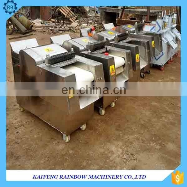 High Efficiency automatic chicken meat cutting machine