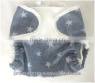 made in Japan wholesale diapers star pattern cute cloth nappy cover for baby