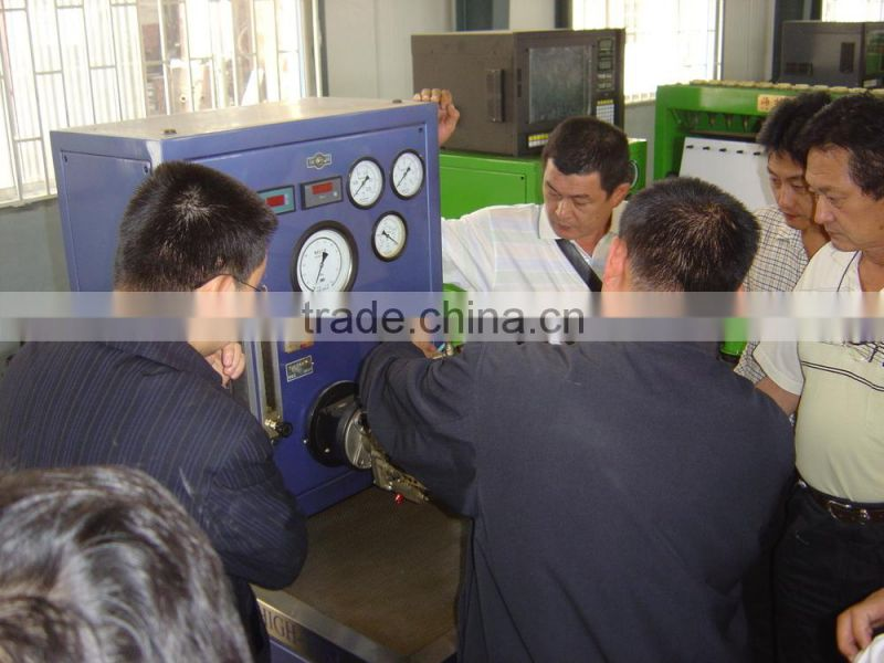 2015, high quality HTS679 electric steering testing bench form Taian Haishu