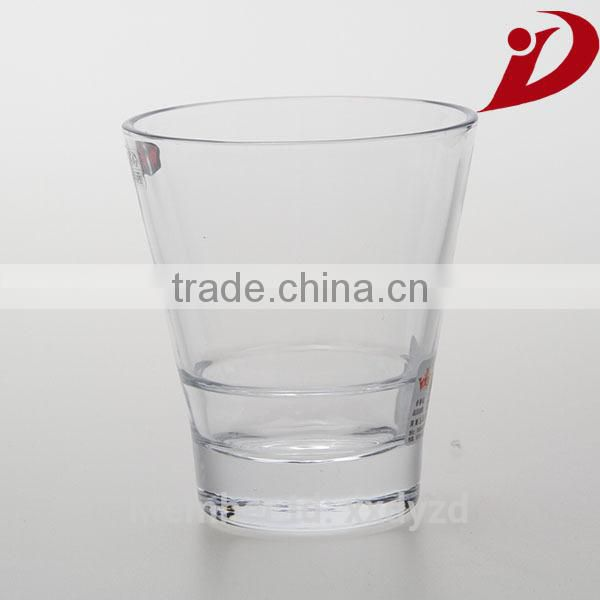 2014 hot selling novelty inexpensive glassware supplier red wine glass cup