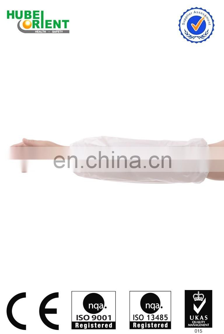 Elastic disposable waterproof sleeve cover