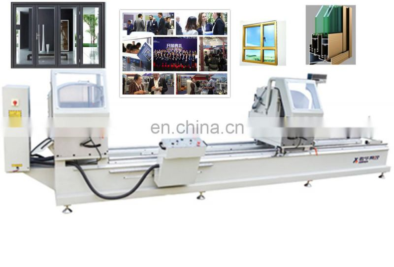 Double head aluminum sawing machine four automatic screw fastening a fusion Heads Upvc Window Welding With Best Service