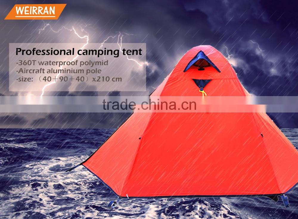 (1074) 3000mm waterproof heavy duty camping professional one person canvas tent