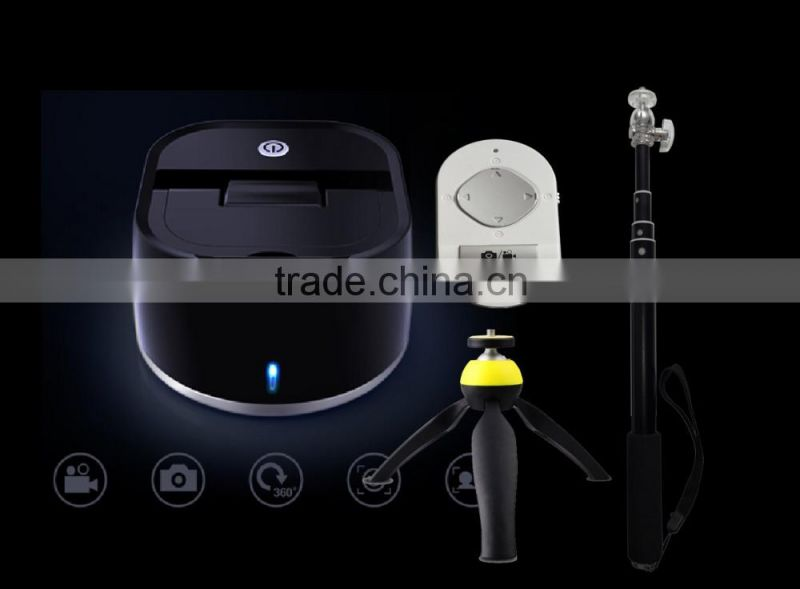 Factory Price Portable Wireless Bluetooth Selfie Robot for Smartphones ,selfie stick without hands