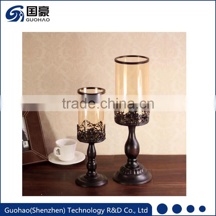 New design China Manufacturer low price wedding candelabra centerpiece