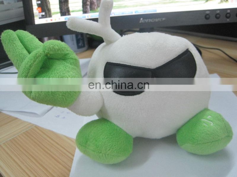 Plush & stuffed toys mobile phone holder / Promotion gift toy / soft toys custom design logo