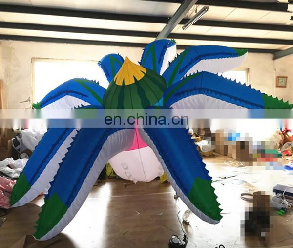 giant haning inflatable octopus tentacles flower