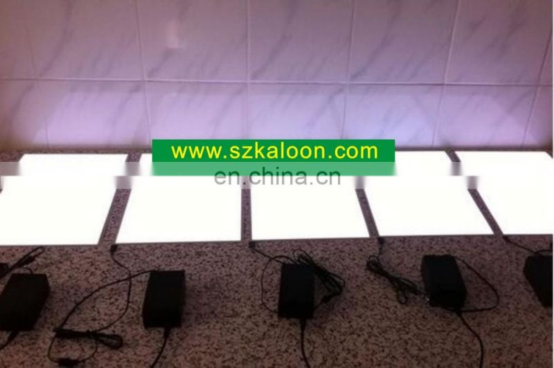 EL backlight flashing light poster advertising display light up el animated panel