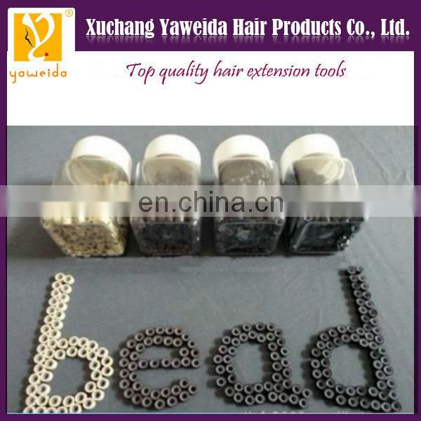 Alibaba express Fast delivery large in stock silicone micro ring hair extension tools