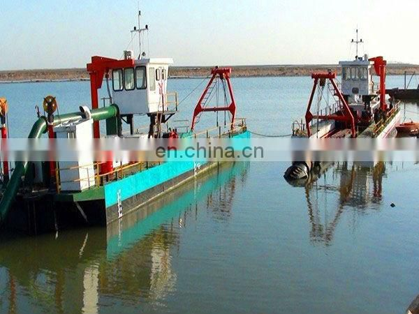 3500 m3/h hydraulic river barge