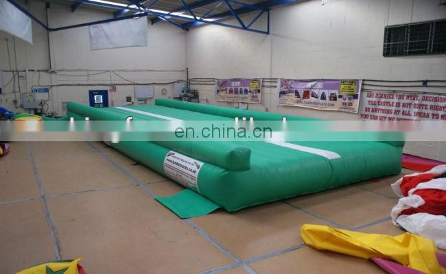Gym PVC Inflatable Tumble Track for sports and training