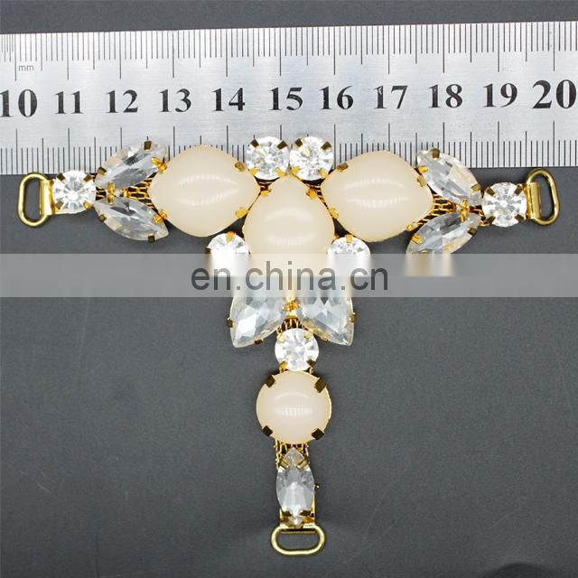 hdt362 Wholesale Sandal Decoration And Shoe ornament chain Women Shoes accessories