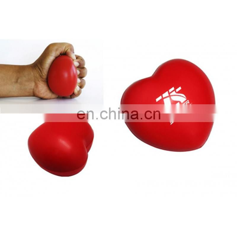 30 to 100mm Size and PU Material smiley stress ball