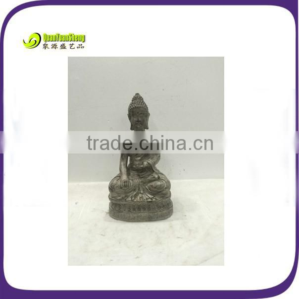 Resin praying female buddha statue