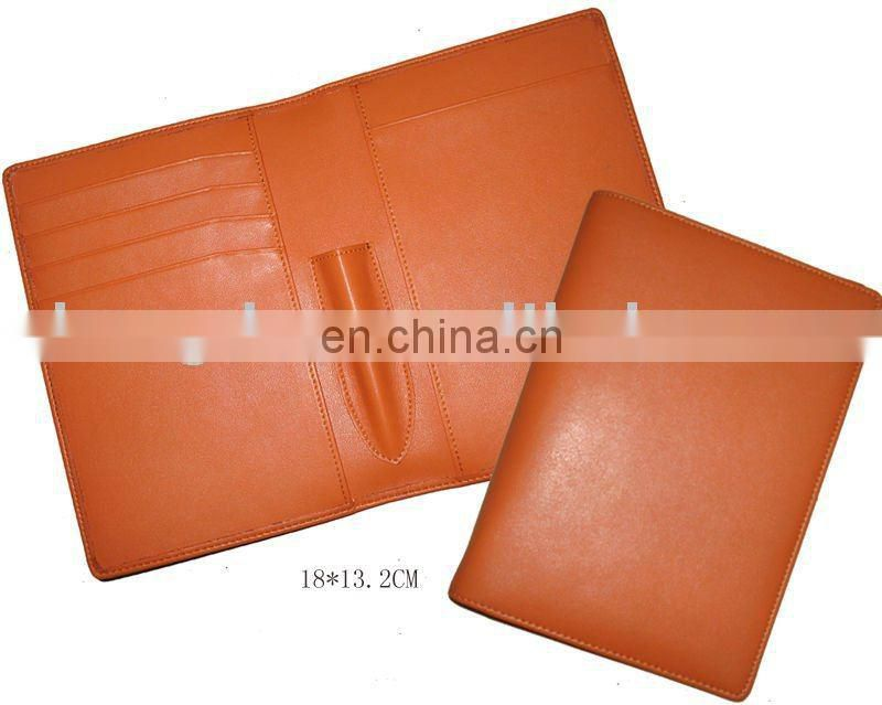 Office Filling Product Customizable Leather A4 Conference Folder