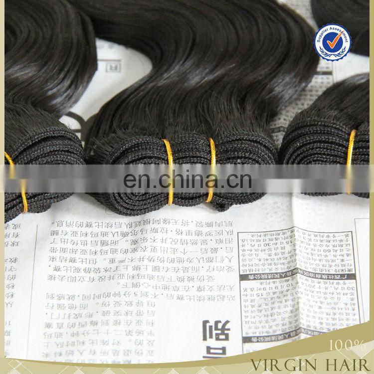 wholesale Grade 7A 100% human remy hair body wave virgin brazilian hair extension