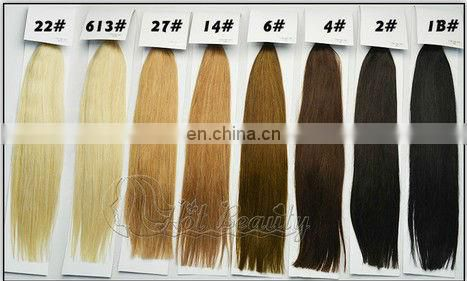 #613 human hair wholesale cheap virgin remy i tip curly hair extensions