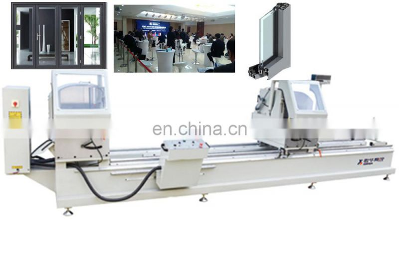 Doublehead miter saw Leather Chairman Chair Lazer Cutting Machine Layerage pvc profile Factory Direct Price