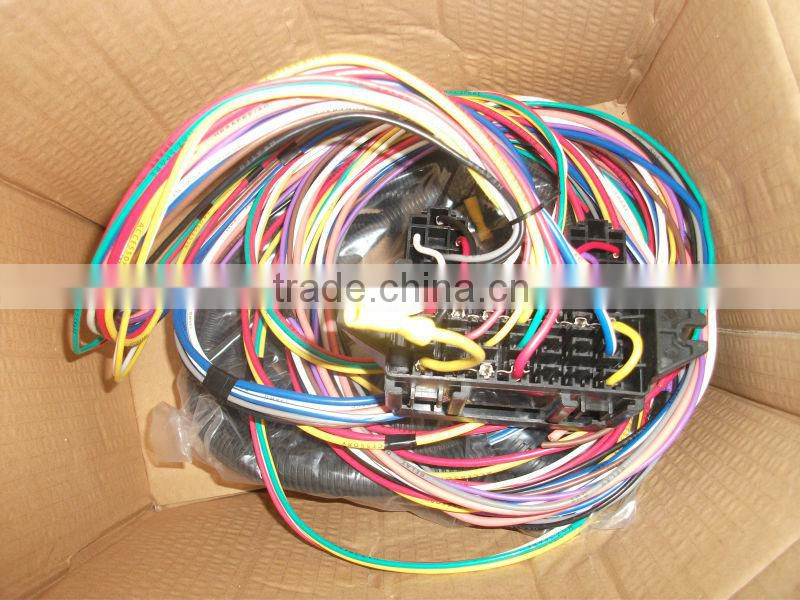 1957 CHEVY FUEL INJECTION STARTER WIRE HARNESS auto NEW of