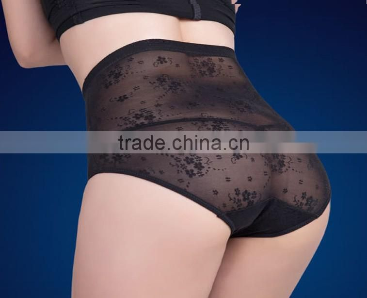 Slimming Model Ultra-thin Triangle Shape Pants Raise Hip High Waist Body Tummy Panty Briefs