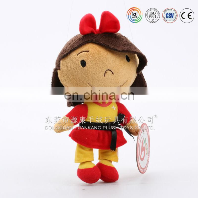 Fashion Doll Type and Plush Material Plush Soft Stuff