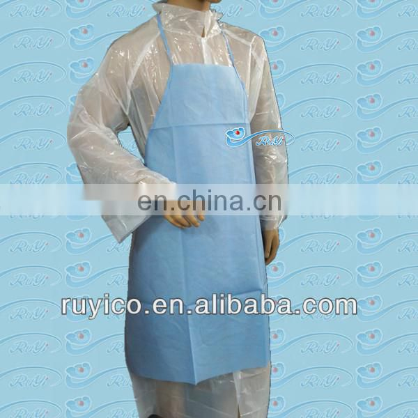cheap wholesale disposable kitchen apron / cooking apron / save-all